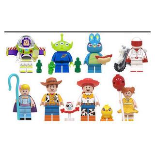 新品 LEGO レゴ互換 トイストーリー4 ミニフィグ 人形セット