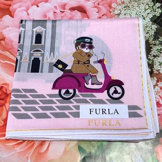 Furla - フルラ ハンカチ アニマルガール