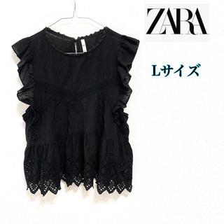 ZARA - ZARA TRF ザラ レディース ノースリーブ ブラウス