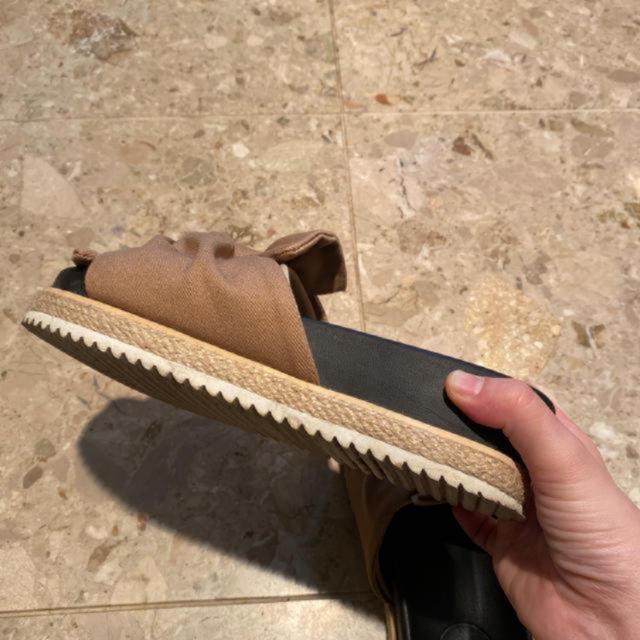 niko and...(ニコアンド)のニコアンド サンダル ベージュ レディースの靴/シューズ(サンダル)の商品写真