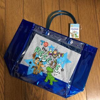Disney - トイストーリー ビニールバッグ プールバッグ 子どもバッグ