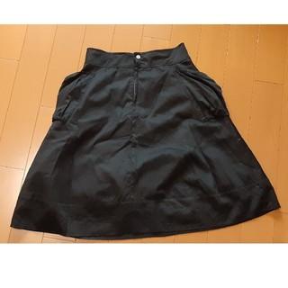 アンダーカレント(UNDERCURRENT)のスカート 黒 L(ひざ丈スカート)