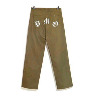 PEACEMINUSONE - PMO WORK PANTS #1 KHAKI