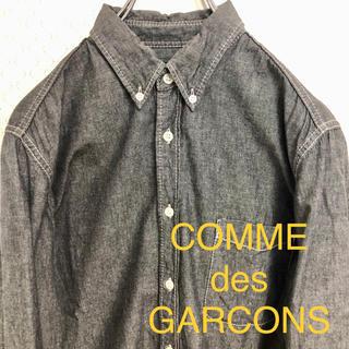 COMME des GARCONS - コムデギャルソン シャンブレー ボタンダウン シャツ カジュアル デザイン