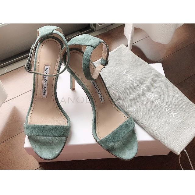 MANOLO BLAHNIK(マノロブラニク)の専用になります‼️美品MANOLOBLANIK マノロブラニクサンダル レディースの靴/シューズ(サンダル)の商品写真