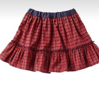 ファミリア(familiar)のファミリアチェック リバーシブルスカート90(スカート)