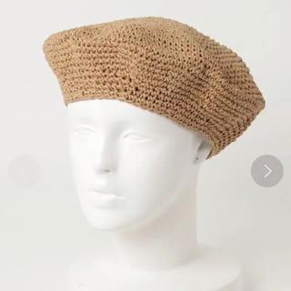 カスタネ(Kastane)のKastane ジュートベレー帽(ハンチング/ベレー帽)