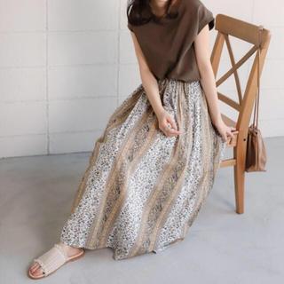 Bou Jeloud - パネル柄ロングスカート