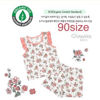 organic cotton 夏パジャマ 90サイズ(パジャマ)