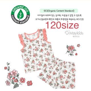 organic cotton 夏パジャマ 120サイズ (パジャマ)
