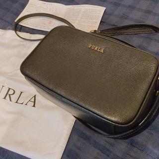 Furla - 購入証明、保存袋付 FURLA(フルラ)ポシェット ショルダーバッグ ブラック