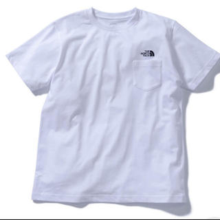THE NORTH FACE - 即購入禁止新品タグ付限定品 ノースフェイスシンプルロゴポケットTシャツ白 S