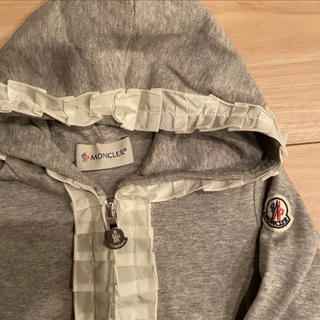 MONCLER - 未使用 モンクレール キッズ 4y フリルパーカー