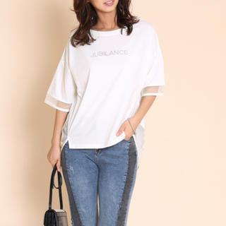 SCOT CLUB - 新品タグ付き 袖 裾 シースルートップス