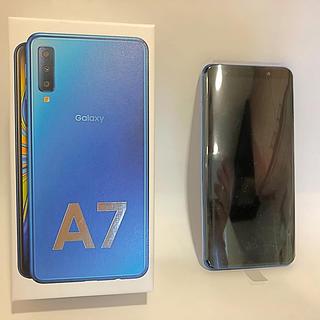 Galaxy -  Galaxy A7 ブルー 64 GB SIMフリー