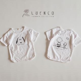 スヌーピー Tシャツ ホワイト 130size(Tシャツ/カットソー)