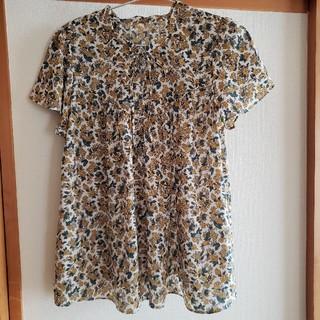 ドレスキップ(DRESKIP)の花柄ブラウス(シャツ/ブラウス(半袖/袖なし))