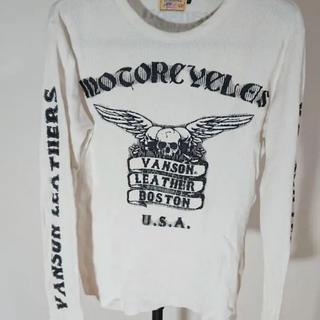 バンソン(VANSON)のvanson ワッフルtシャツ(Tシャツ/カットソー(七分/長袖))