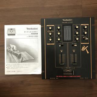 technics SH-EX 1200(DJミキサー)