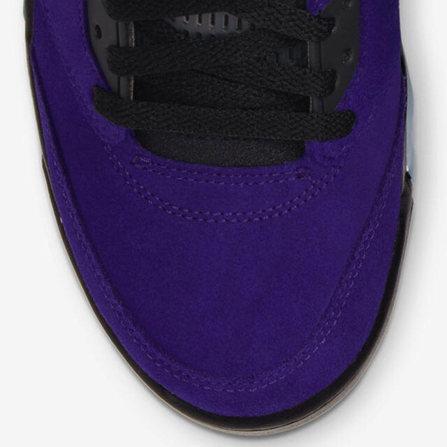 NIKE(ナイキ)のエア ジョーダン 5 パープル グレープ 26.5cm メンズの靴/シューズ(スニーカー)の商品写真