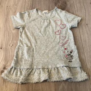 ニットプランナー(KP)の90センチ チュニック(Tシャツ/カットソー)
