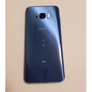 Galaxy - GALAXY S8 SCV36 コーラルブルー