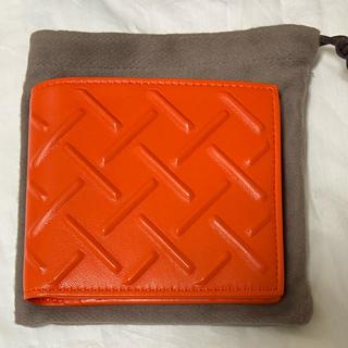 ボッテガヴェネタ(Bottega Veneta)の《ほぼ未使用、美品》 ボッテガヴェネタ  財布  二つ折り財布(折り財布)