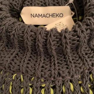 RAF SIMONS - namacheko 19SS サマーニット 101520円 ナマチェコ