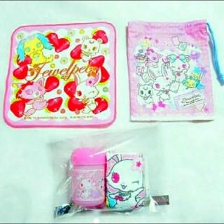 サンリオ - サンリオ Sanrio コップ袋 ハンカチ おしぼり ケース 女の子 学童