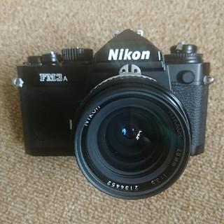 Nikon - ニコン FM3A 28ミリF3.5S 付