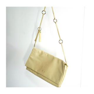 ジルサンダー(Jil Sander)のjilsander leather bag(ショルダーバッグ)