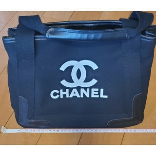 シャネル(CHANEL)のCHANEL ノベルティー キャンパス地 バッグ(USED)(ハンドバッグ)