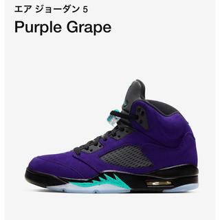 NIKE - jordan5 ジョーダン5 purple grape グレープ 29 29.0