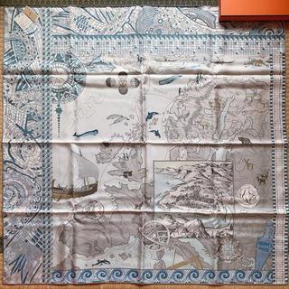 Hermes - 【タグ付新品】エルメス スカーフLe Voyage De Pytheasカレ90
