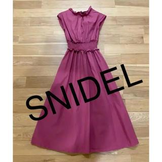 snidel - スナイデル♡ロングワンピース♡ピンク