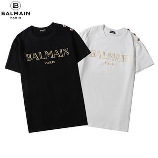 BALMAIN - BALMAIN バルマン  丸襟Tシャツ 半袖006