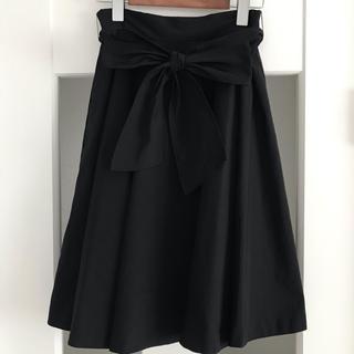 Debut de Fiore - デビュードフィオレ  Aラインフレアースカート  ブラック