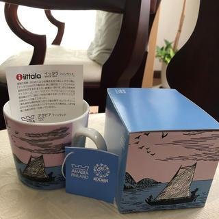 アラビア(ARABIA)のレア 『ナイトセーリング 』アラビア 65周年記念限定 ムーミン マグカップ(食器)