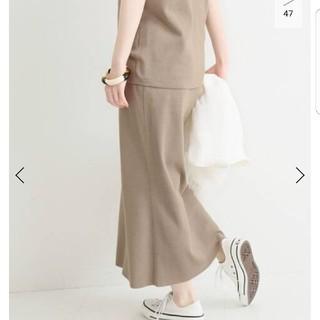 IENA - IENA イエナ 3/60 cotton ニットスカート 未使用新品