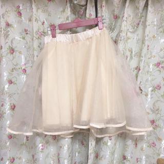 グレイル(GRL)のボリューム チュールスカート(ひざ丈スカート)