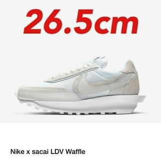 """ナイキ(NIKE)の26.5cm SACAI Nike LDWaffle """"White Nylon""""(スニーカー)"""