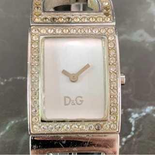 ドルチェアンドガッバーナ(DOLCE&GABBANA)の☆限定特価☆ 【ドルガバ】 時計 腕時計 シルバー アナログ メタルベルト (腕時計)