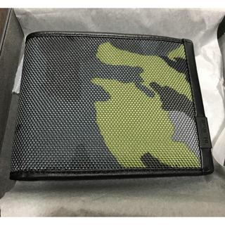 トゥミ(TUMI)の新品 TUMI カモフラ 財布 ALPHA SLG(折り財布)