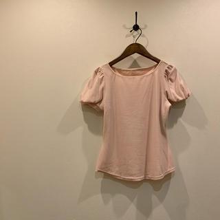 フォクシー(FOXEY)のVELOUR NOIR FOXY NEWYORK フォクシー ベロアパフスリーブ(Tシャツ(半袖/袖なし))