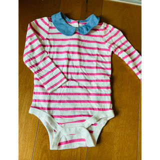 ベビーギャップ(babyGAP)の襟付きロンパース(ブラウス)