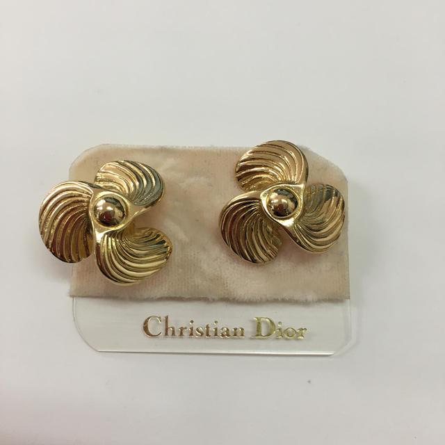 Christian Dior(クリスチャンディオール)のクリスチャンディオール  イヤリング ゴールド レディースのアクセサリー(イヤリング)の商品写真