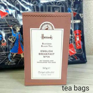 ハロッズ(Harrods)のハロッズ No.14 イングリッシュブレックファスト ティーバッグ 紅茶(茶)