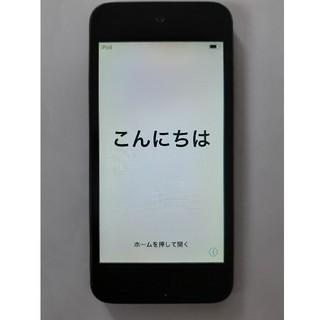 アイポッドタッチ(iPod touch)の〈 中古品 〉iPodtouch第6世代 32GB ブラック(その他)