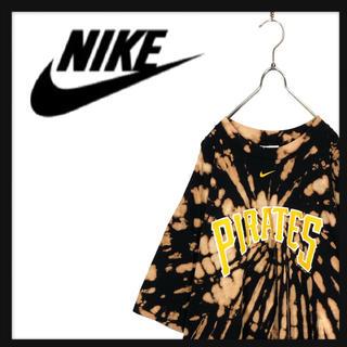 ナイキ(NIKE)のNIKE ナイキ オーバーサイズ タイダイ Tシャツ パイレーツ MLB(Tシャツ/カットソー(半袖/袖なし))