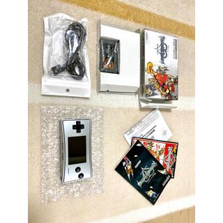 ニンテンドウ(任天堂)のゲームボーイミクロシルバー + ソフト gameboymicro(携帯用ゲーム機本体)